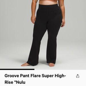 Lululemon Nulu Groove Pant